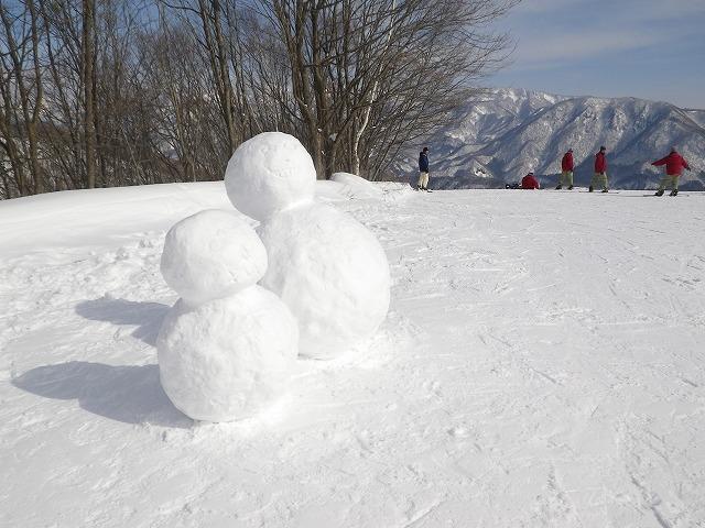 素敵な雪だるま