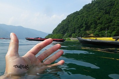 琵琶湖カヤッククルーズ400