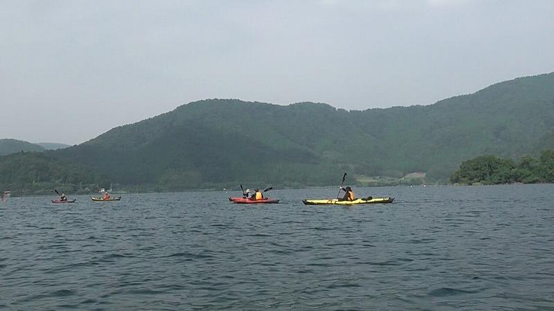 22.琵琶湖カヤッククルーズ