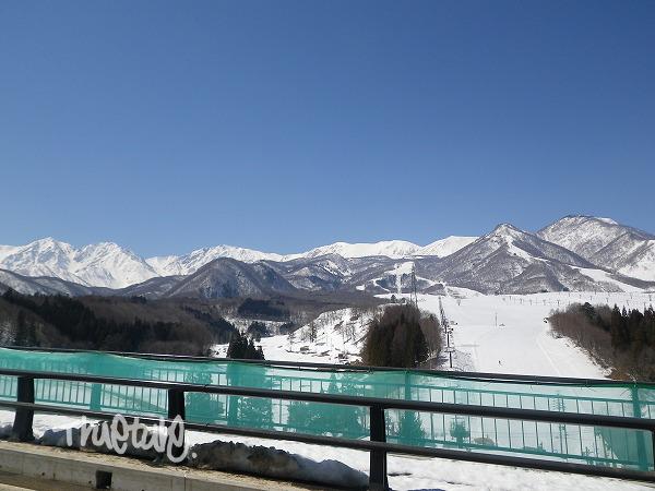 1.春の雪山