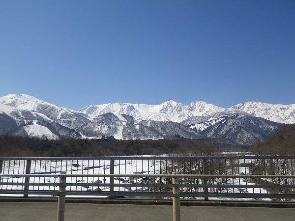 2.春の雪山