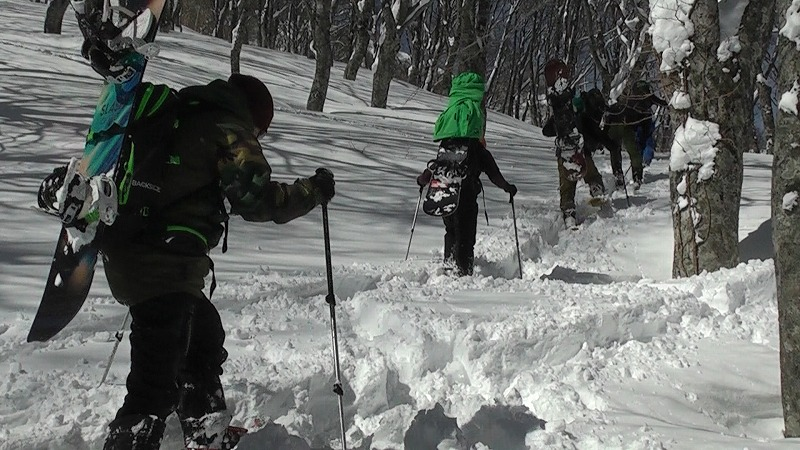 Myoko Kogen Back country ski tours